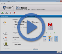 Video of Gmail Backup Tool
