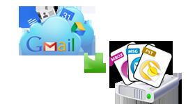 Gmail Backup Process
