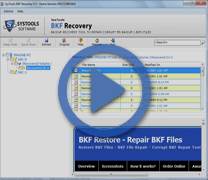 Video of BKF Recovery Tool